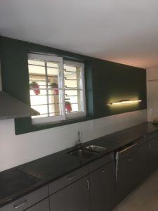 Schulhaus Langmatt Küche